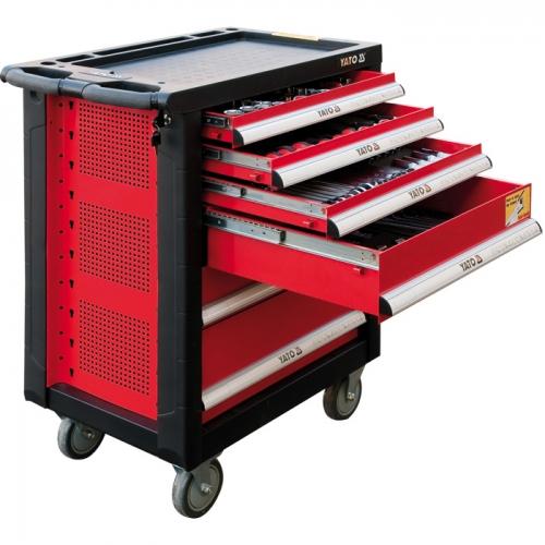 YT-5530 YT-5530 177件套工具车推盘组套