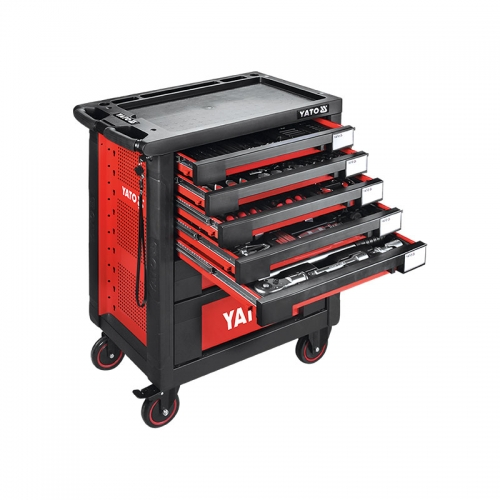YT-55293 165件套工具车托盘组套