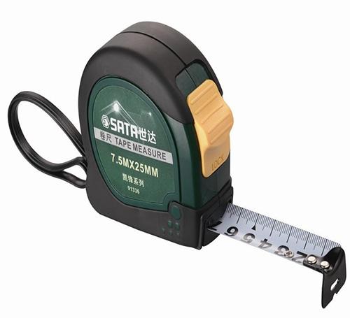 凯锋系列橡塑型钢卷尺7.5Mc25MM