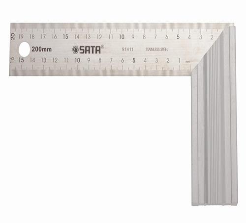 铝柄钢角尺200MM