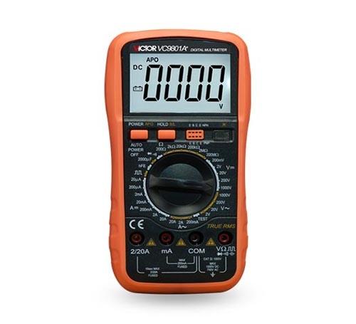 数字万用表VC9801A+-1