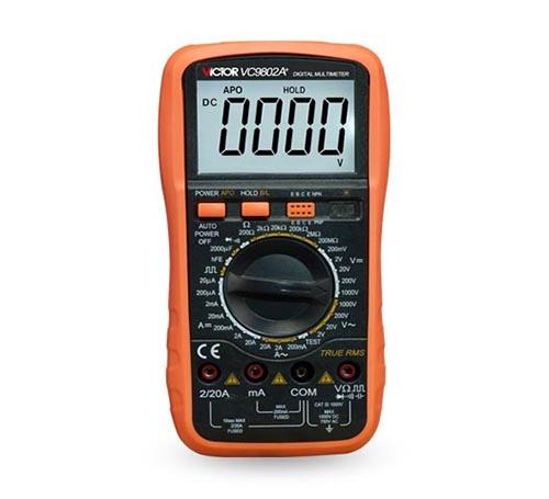 数字万用表VC9802A+-1